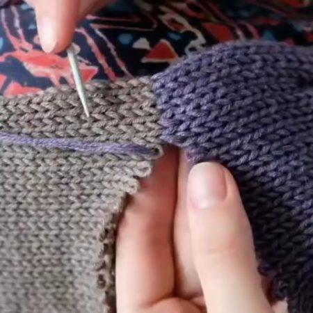 Knitted stitch