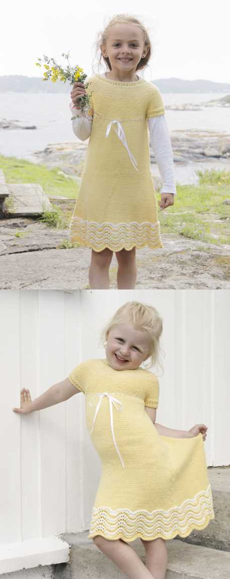 Dress Free Knitting Pattern