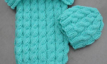 free baby sleeping sack pattern
