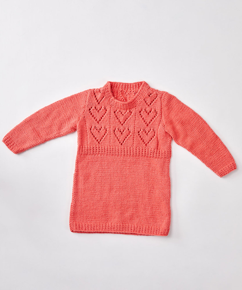 Child's Heart Yoke Tunic 2 YRS