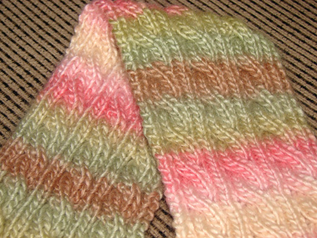 Palindrome A Reversible Cable Scarf